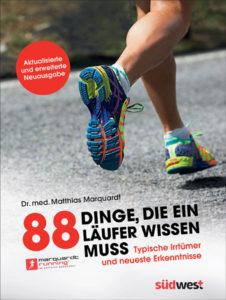 Buch-Cover: 88 Dinge, die ein Läufer wissen muss - Typische Irrtümer und neueste Erkenntnisse