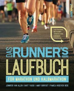 Buch-Cover: Das Runner's World Laufbuch für Marathon und Halbmarathon - Lauftraining, Wettkampfvorbereitung, Gewinnerstrategien