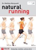 Buch-Cover: natural running - Schneller, leichter, schmerzfrei